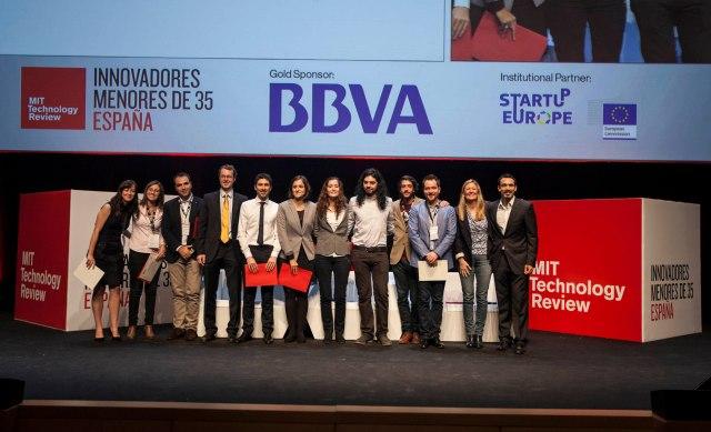 Innovadores menores de 35 España 2014.MIT Technology Review.Entrega de premios_B